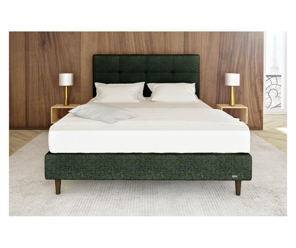 Čelo postele Pyrite Deep Green 180x118 cm