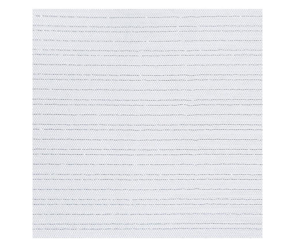 Draperie Arlona White Rings 140x250 cm
