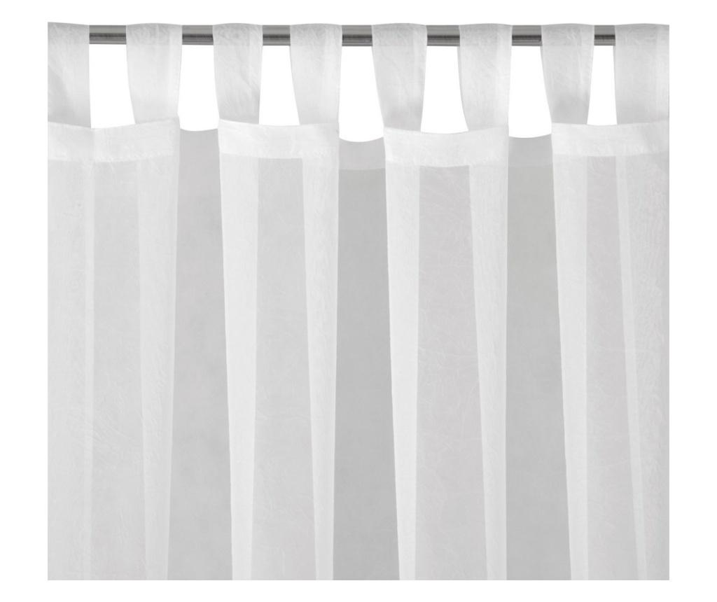 Zavesa Lucy White 140x250 cm