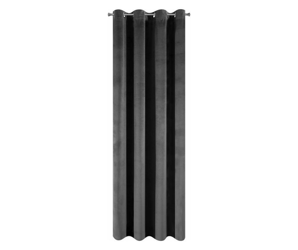 Velvet Steel Sötétítő 140x250 cm