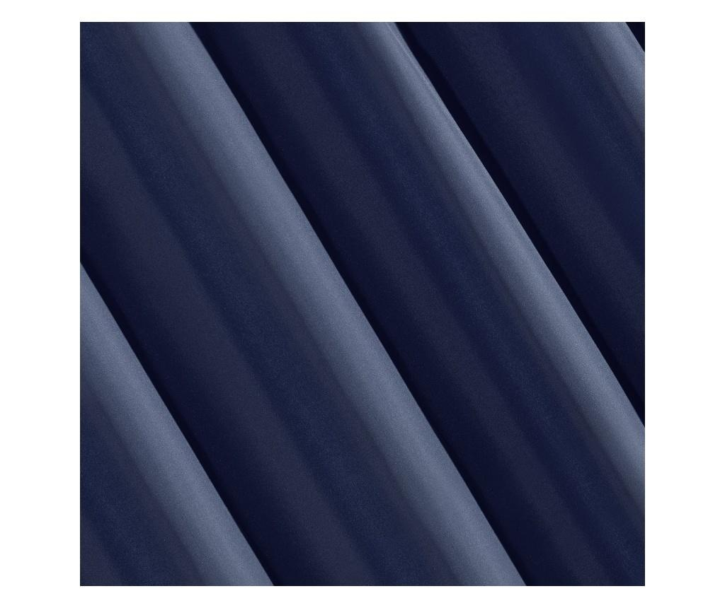 Zasłona Rita Blue Rings 140x250 cm