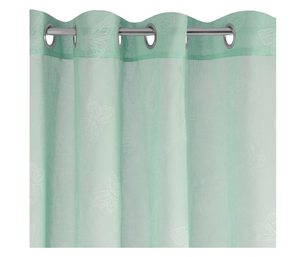 Draperie Roxy Green Rings 140x250 cm