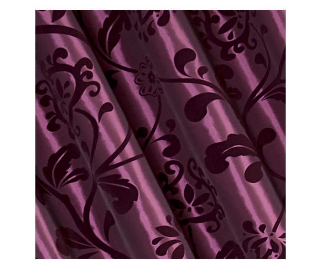 Závěs Amber Purple 140x250 cm