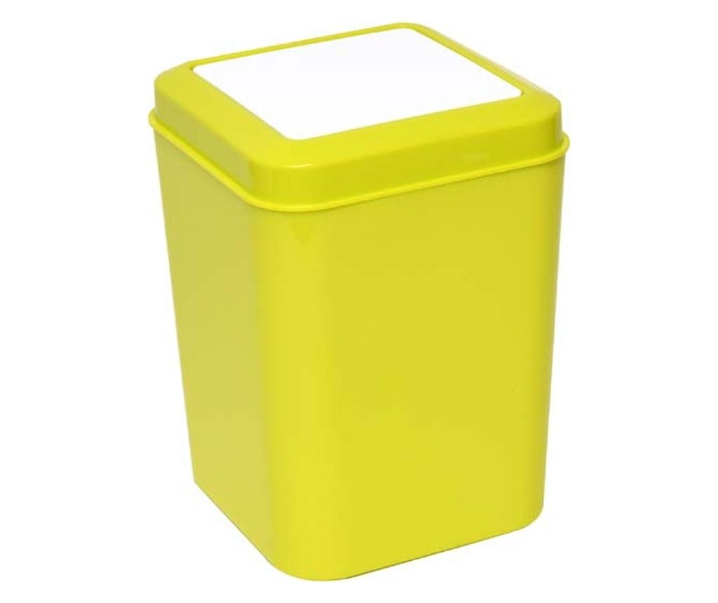 Cos de gunoi cu capac 5 L