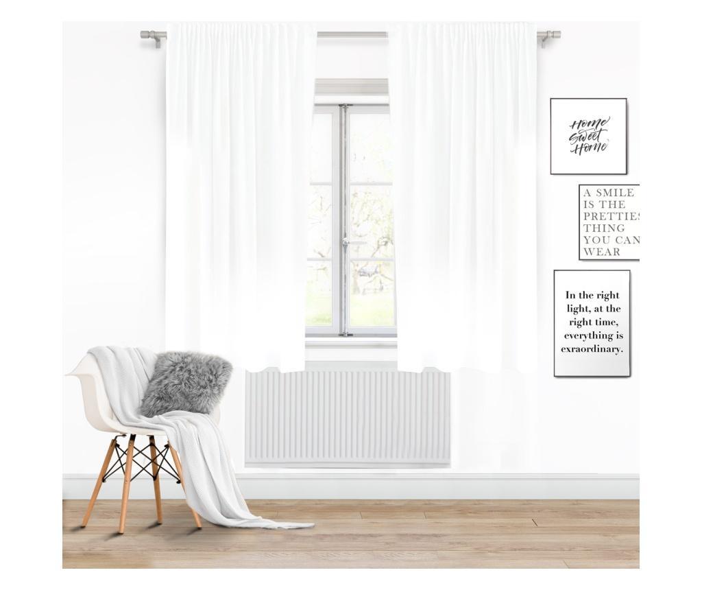 Záves Viva Tape White 140x250 cm