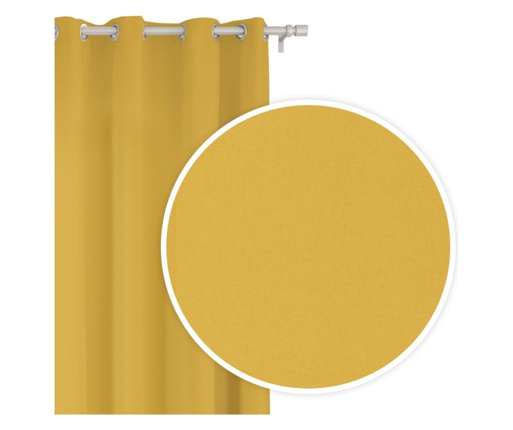 Viva Yellow Sötétítő 140x250 cm