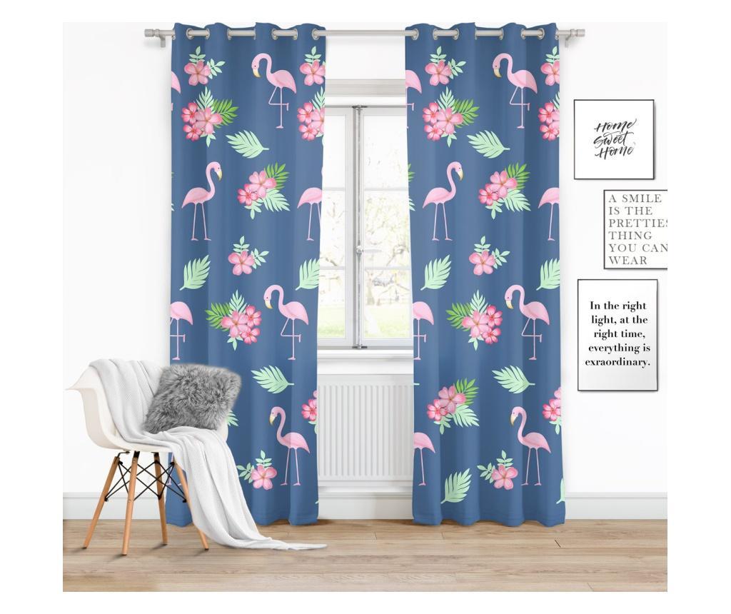 Draperie Flamingi 140x250 cm