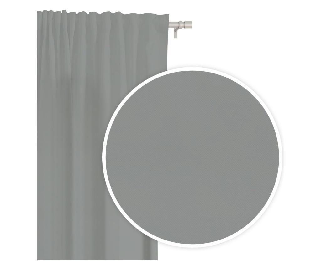 Záves Hold Tape Grey 140x250 cm