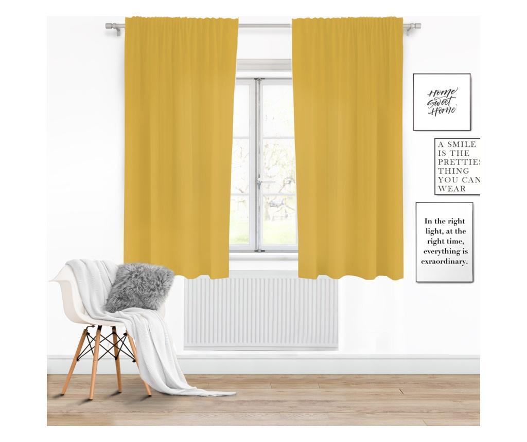 Draperie Viva Tape Yellow 140x175 cm