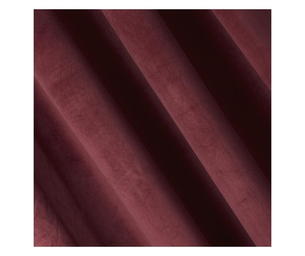Pierre Dark Red Sötétítő 140x270 cm