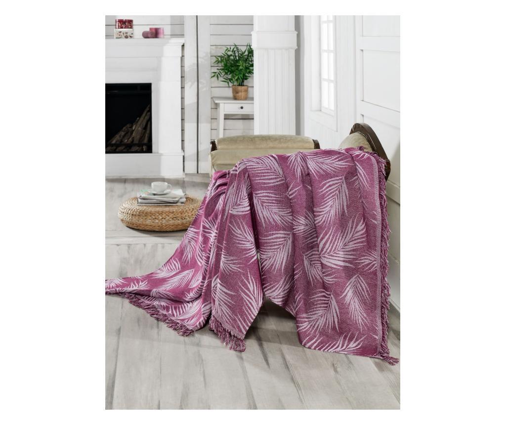 Prekrivač Palmiye Purple 170x220 cm