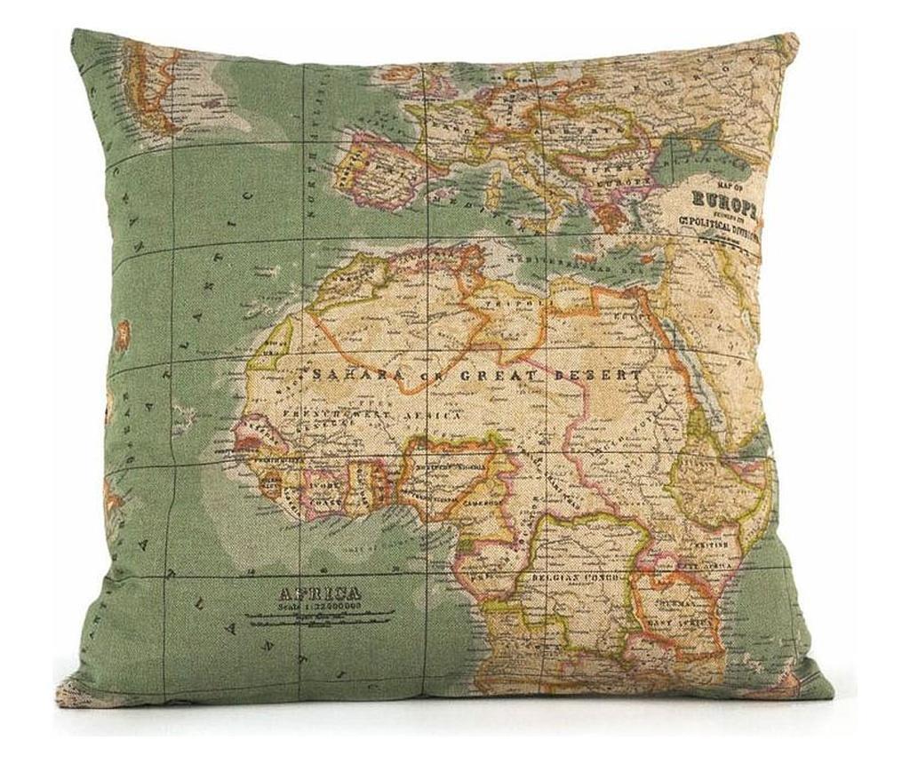 Διακοσμητικό μαξιλάρι Mapamundi 45x45 cm