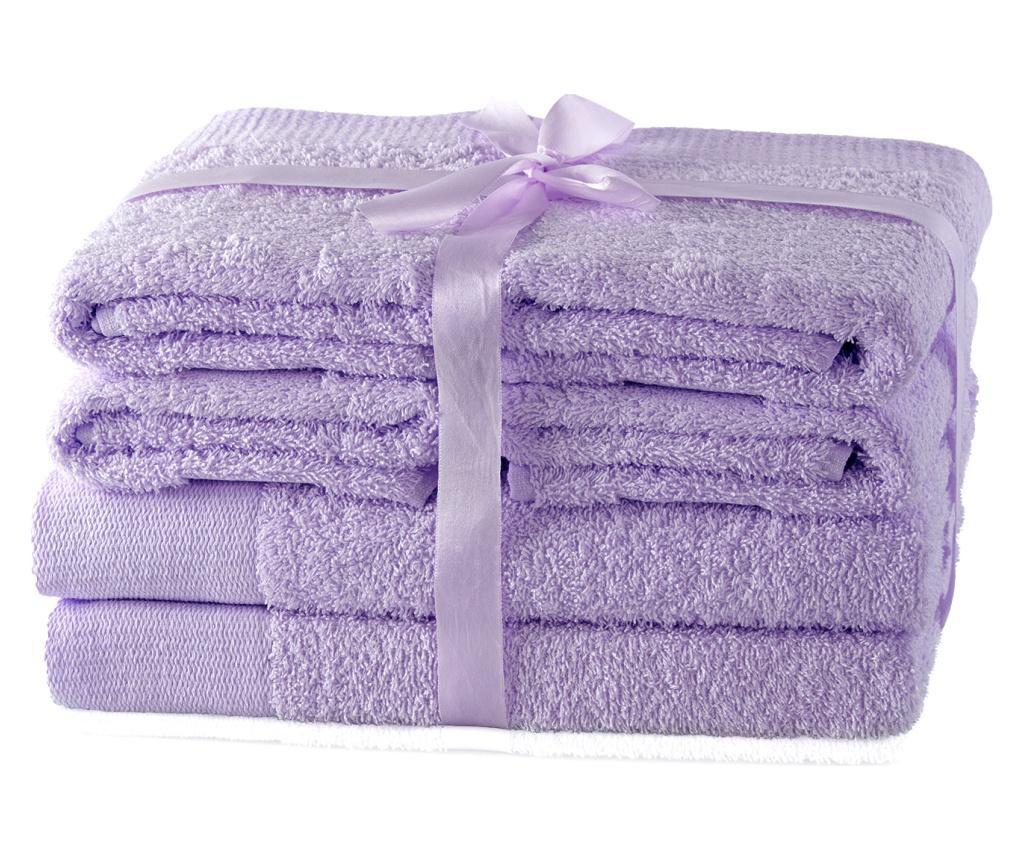 Set 6 kupaonska ručnika Ah Amari