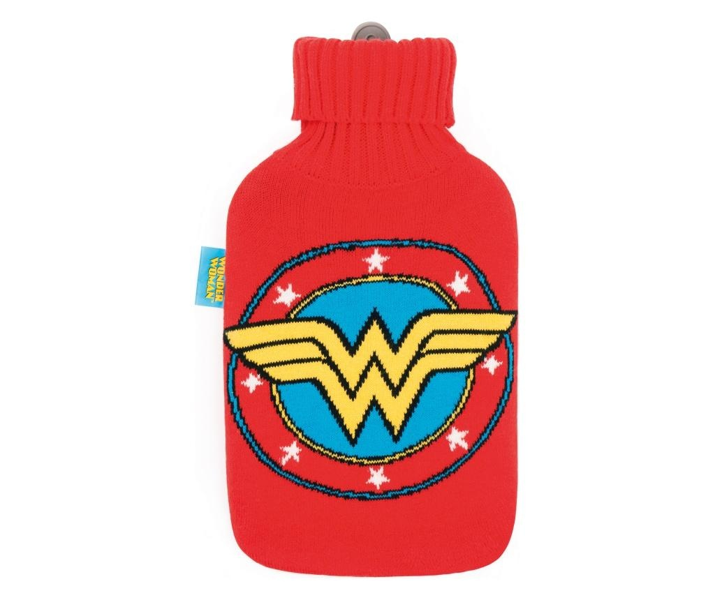 Husa pentru sticla cu apa calda Wonder Woman 2L