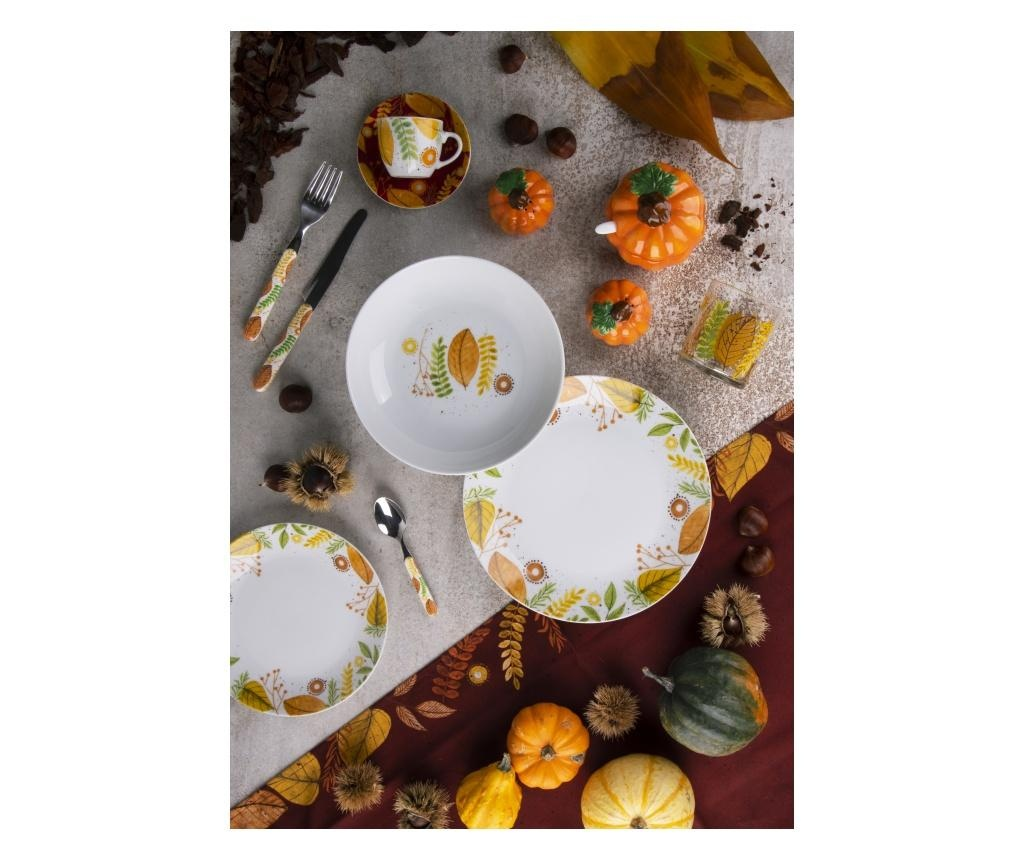 Set de masa 18 piese Autumn Leaves