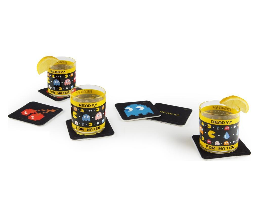 Pac Man 6 db Poháralátét