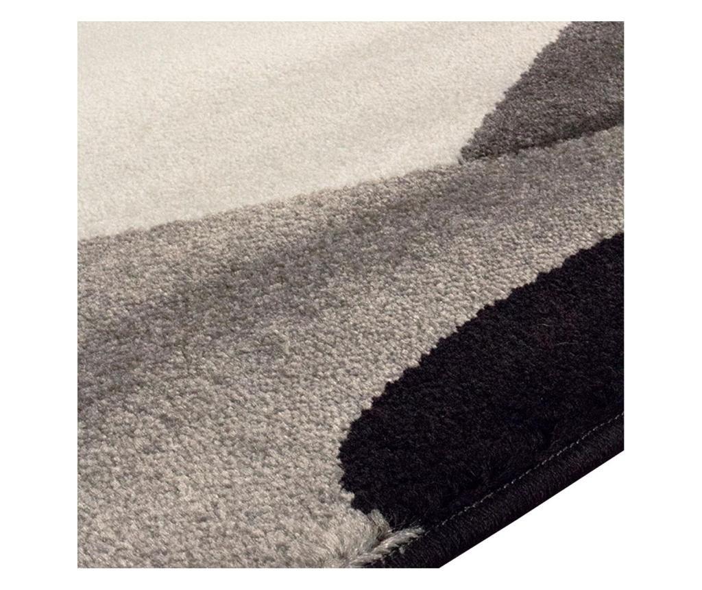 Covor Manhattan Hudson Grey Black 160x230 cm