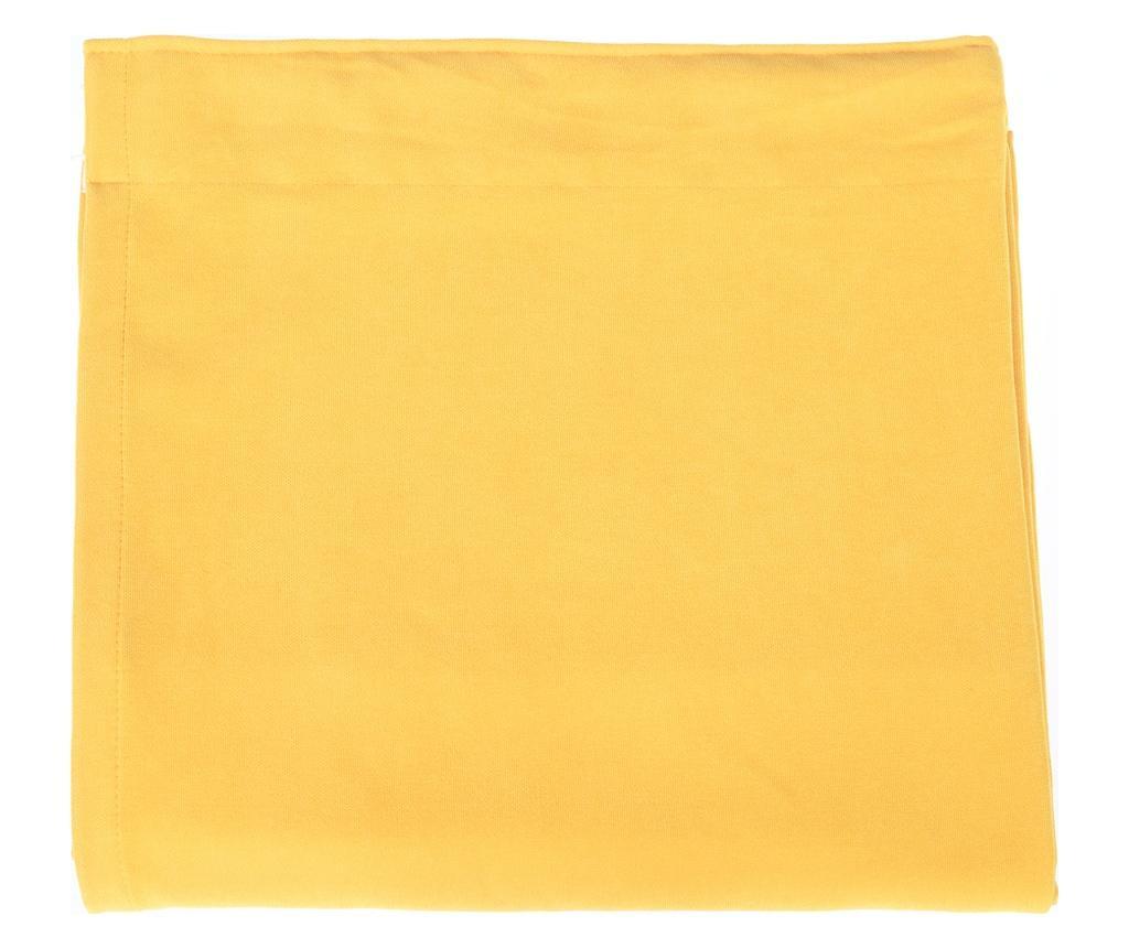 Zastor Plain Yellow 140x270 cm