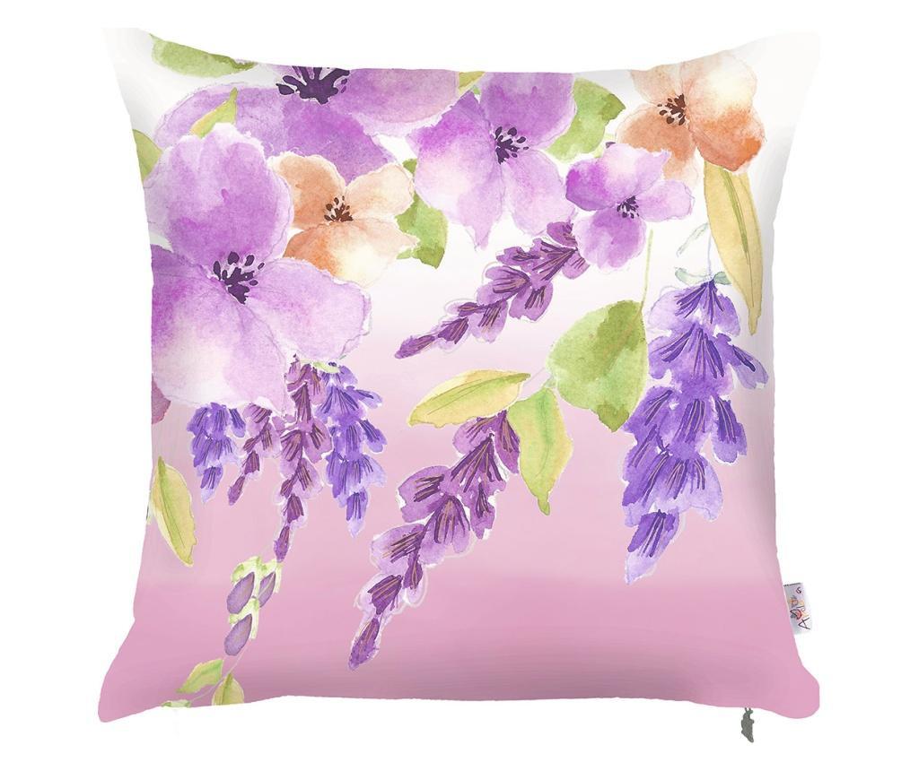 Fata de perna Purple Garden 43x43 cm