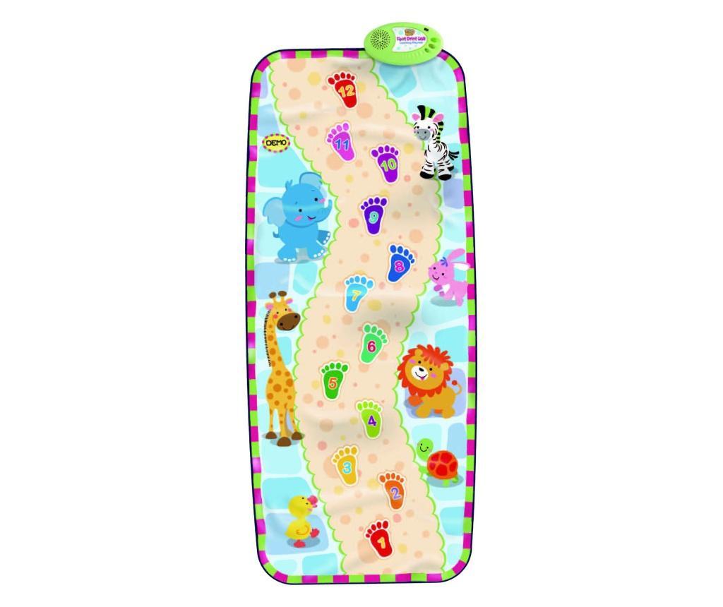 Mata  muzyczna z aktywnościami Footprint 59x138 cm