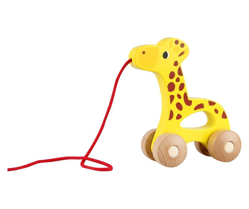 Jucarie de tras Giraffe