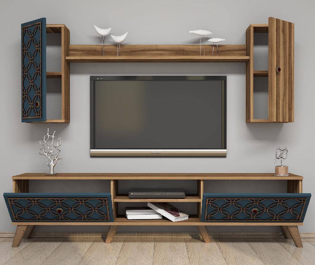 Set - TV komoda in 1 viseča element Class Chalcedony