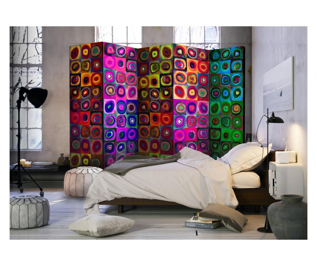 Sobna pregrada Colorful Abstract Art II