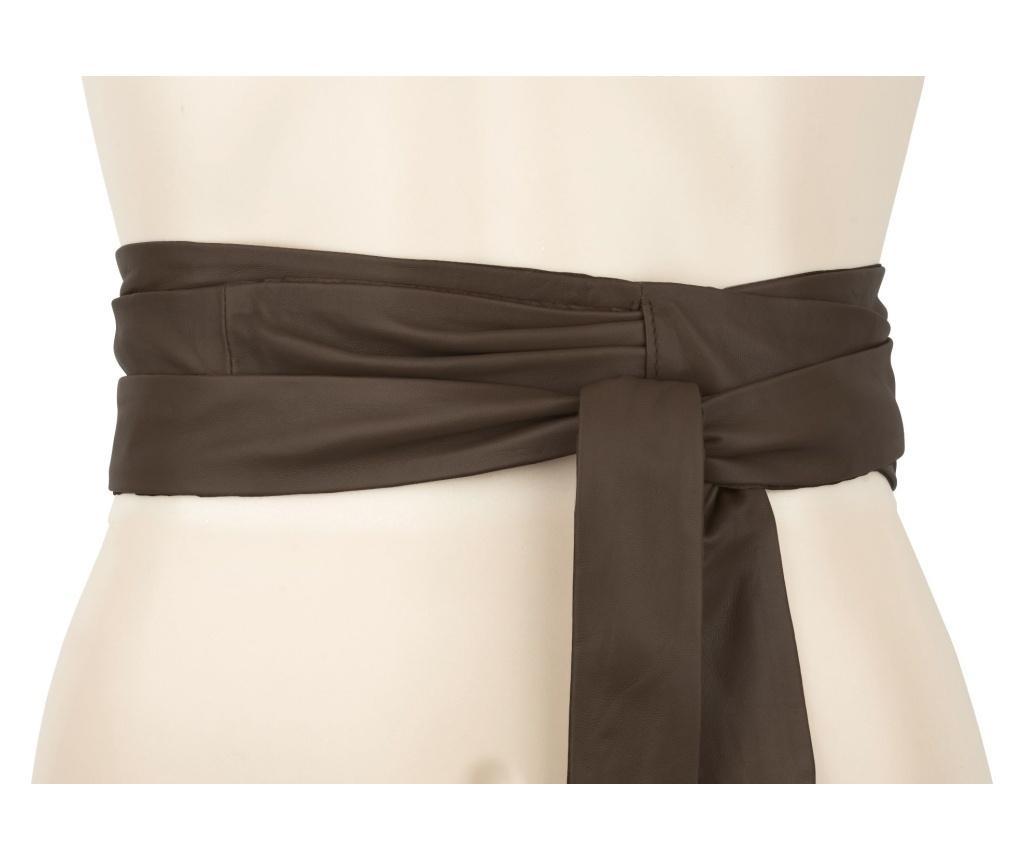 Wrap Around Brown Női öv 230 cm