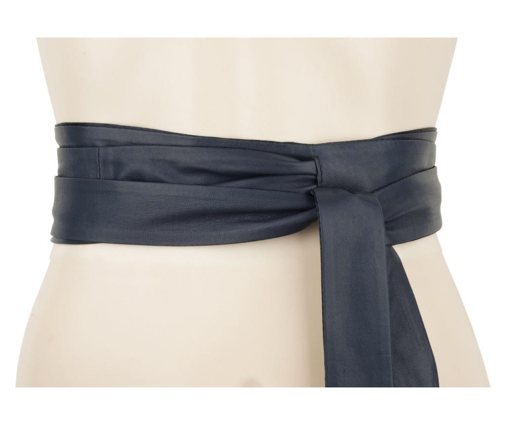 Curea dama Wrap Around Navy 230 cm