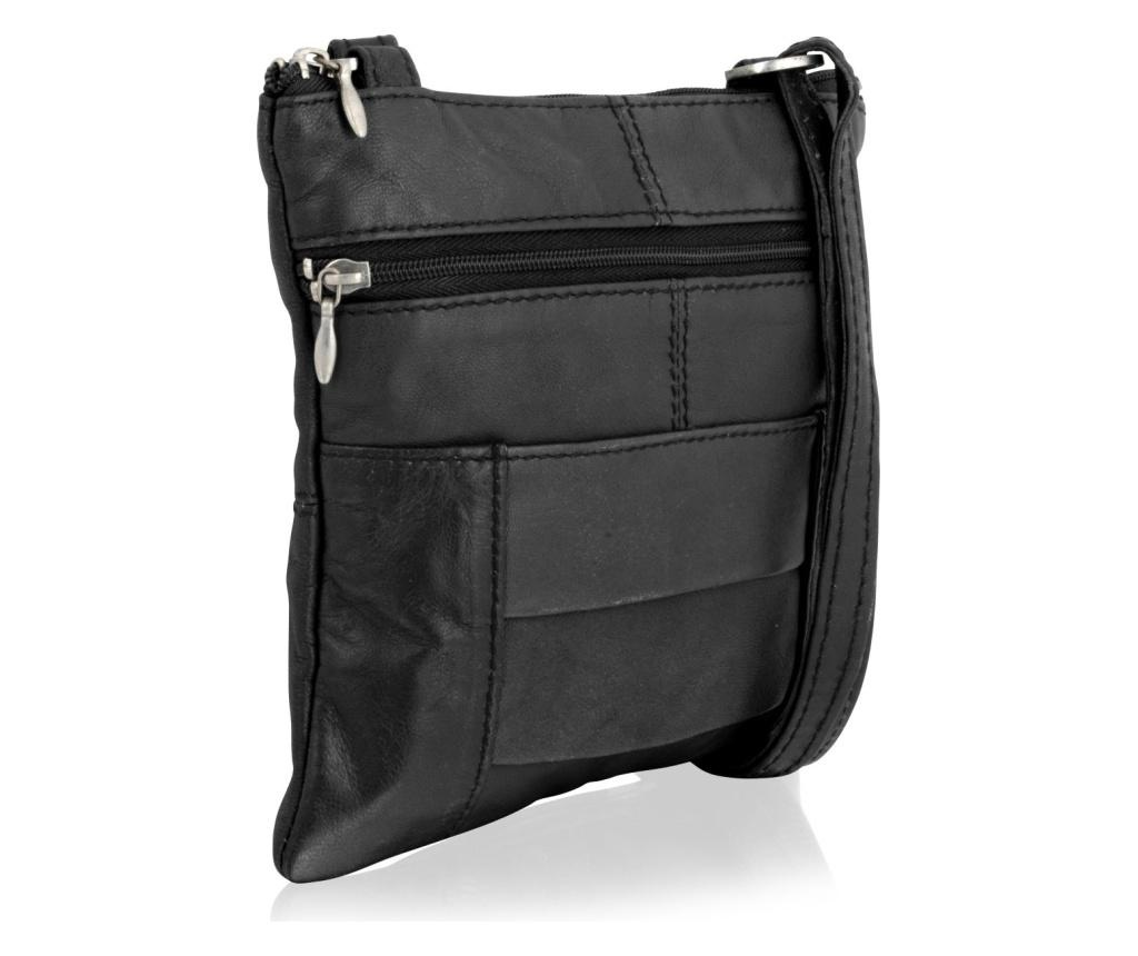 Geanta Woodland Small Crossbody Black