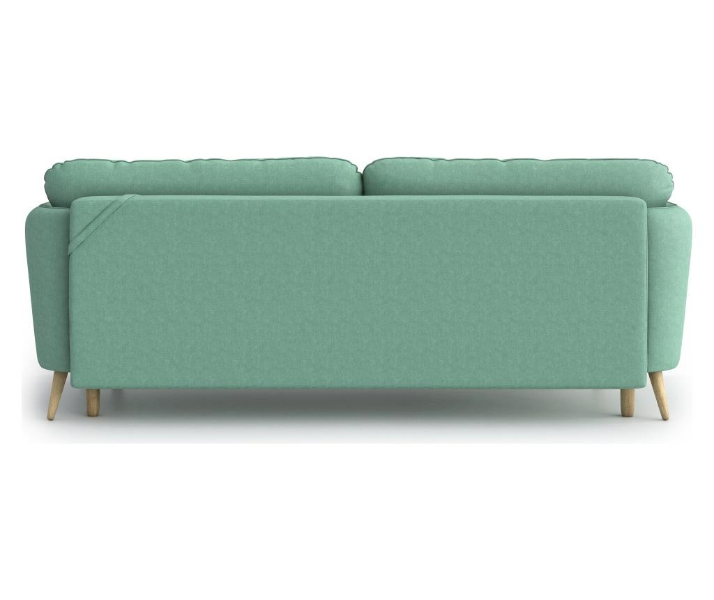 Canapea extensibila 3 locuri Clara Soro Mint