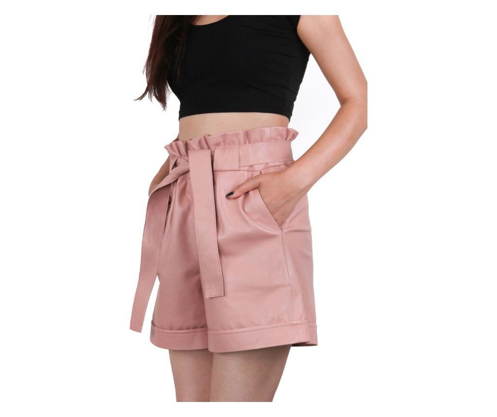 Ženske kožne kratke hlače Iparelde Pink L