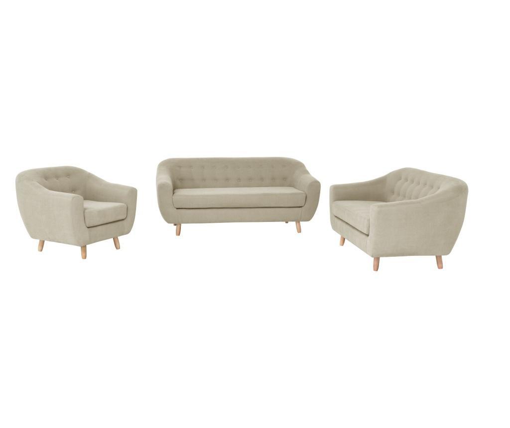 Canapea 3 locuri Vicky Beige