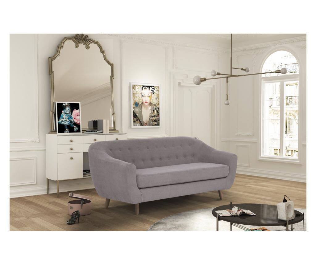 Canapea 3 locuri Vicky Ashen Brown