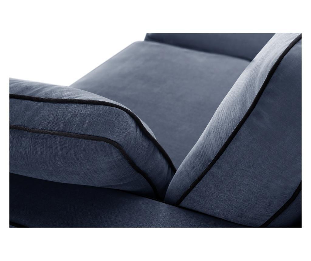 Kauč dvosjed Serena Navy Blue