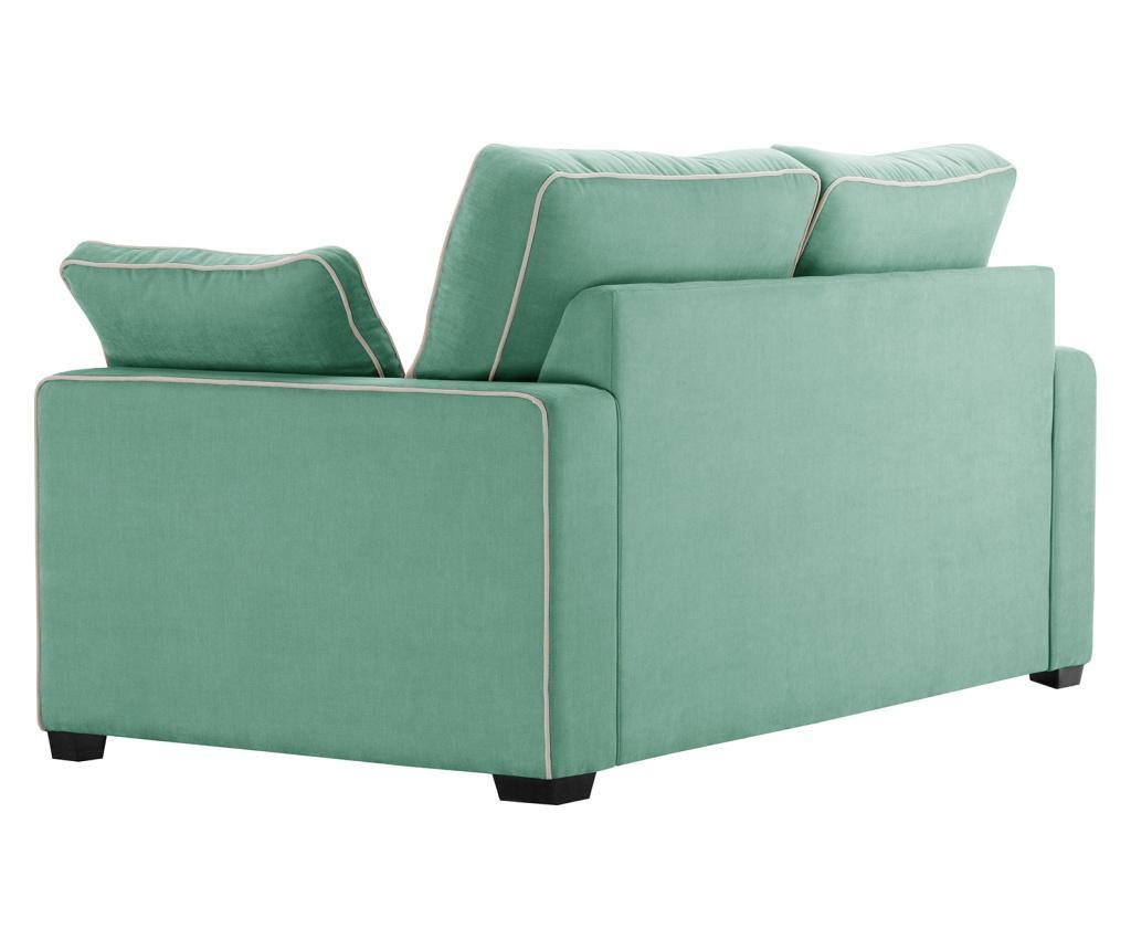 Canapea extensibila 2 locuri Serena Mint