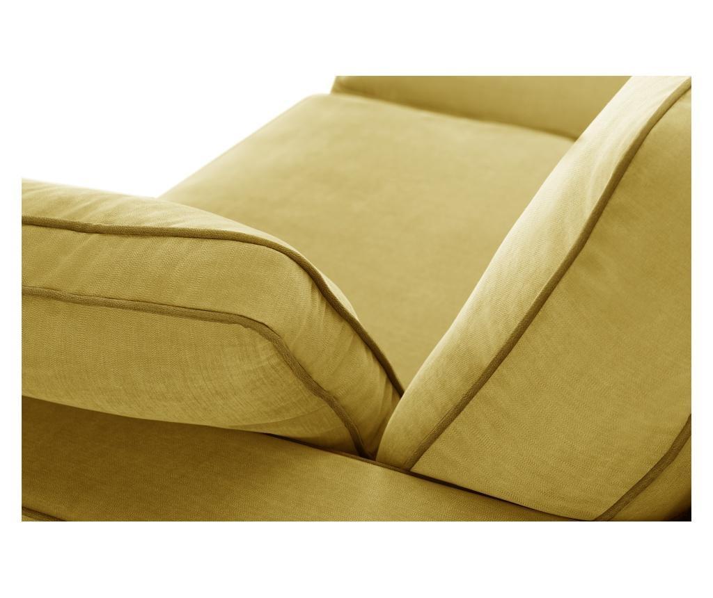 Kauč trosjed Serena Yellow