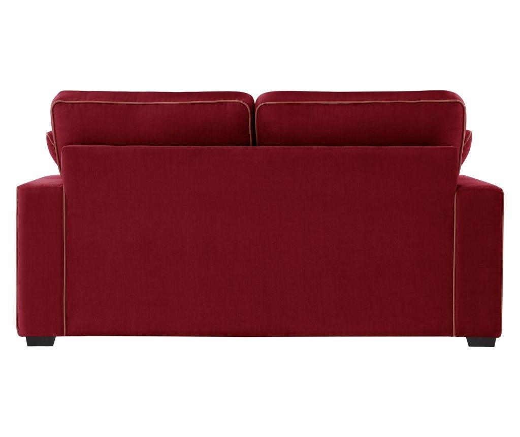 Canapea extensibila 2 locuri Serena Glamour Red