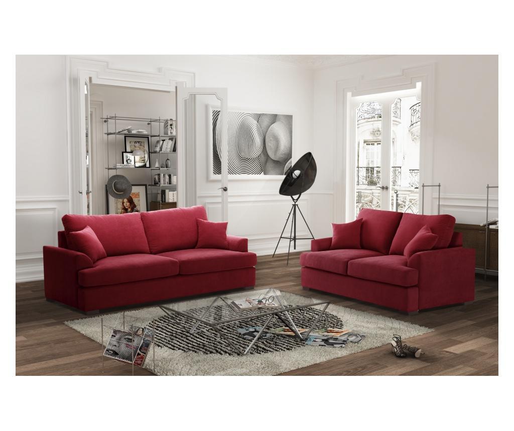 Sofa dvosjed Irina Glamour Red