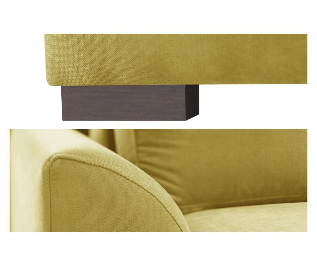 Sofa dvosjed Irina Yellow