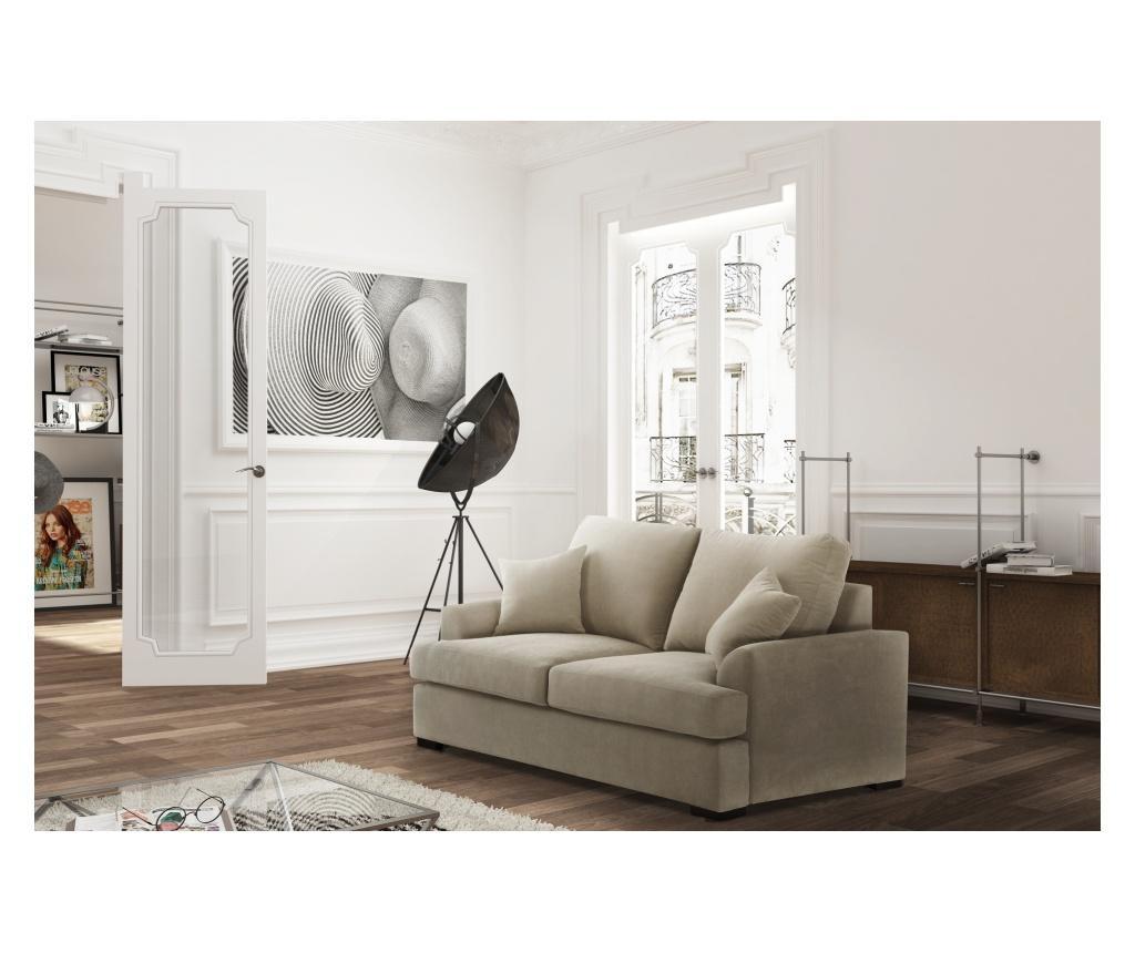 Canapea extensibila 2 locuri Irina Cream