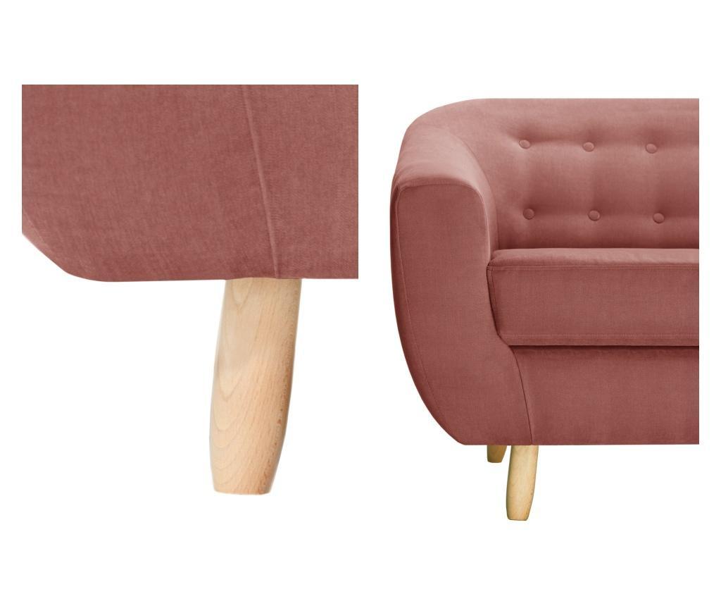Canapea 3 locuri Vicky Peach