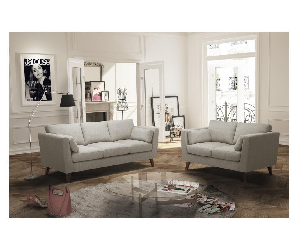 Elisa Beige Háromszemélyes kanapé
