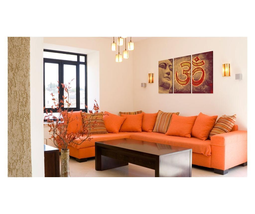 Set 3 tablouri Buddha - symbol 120x80
