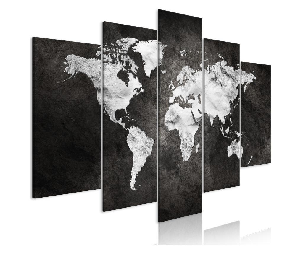 Set 5 tablouri Dark World (5 Parts) Wide 100x50