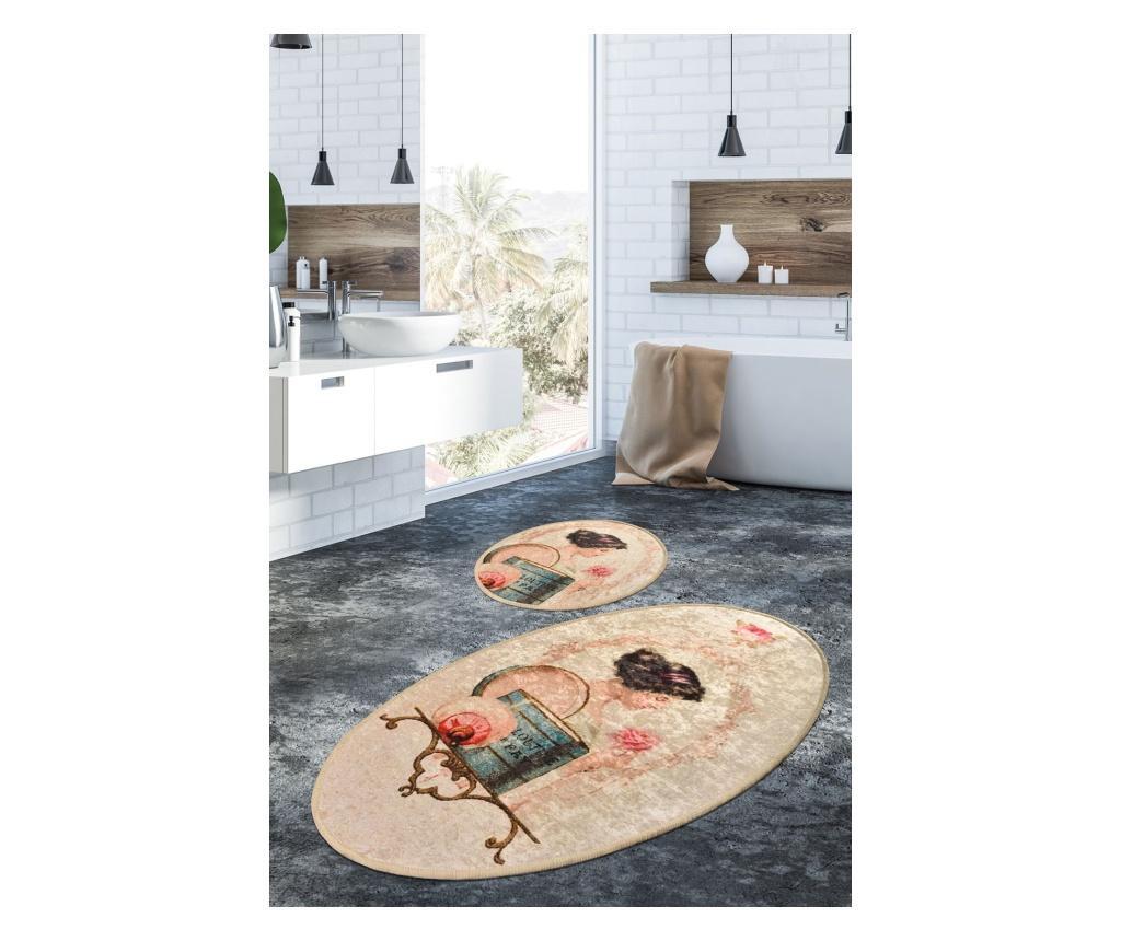 2 db Fürdőszoba szőnyeg