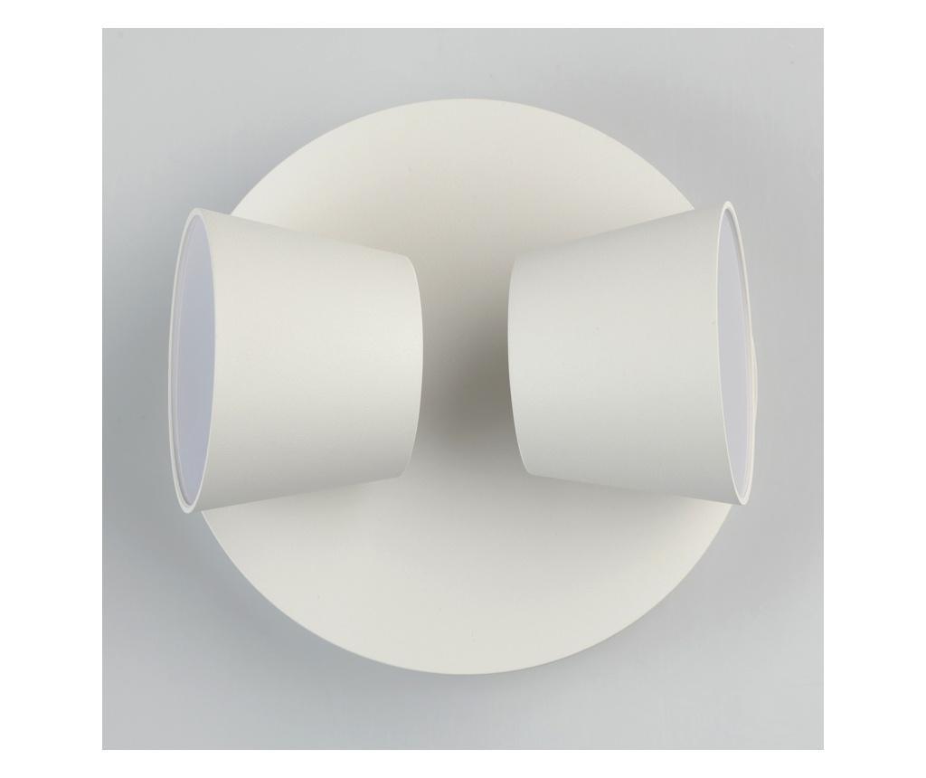 Aplica de perete Hartwig White Two