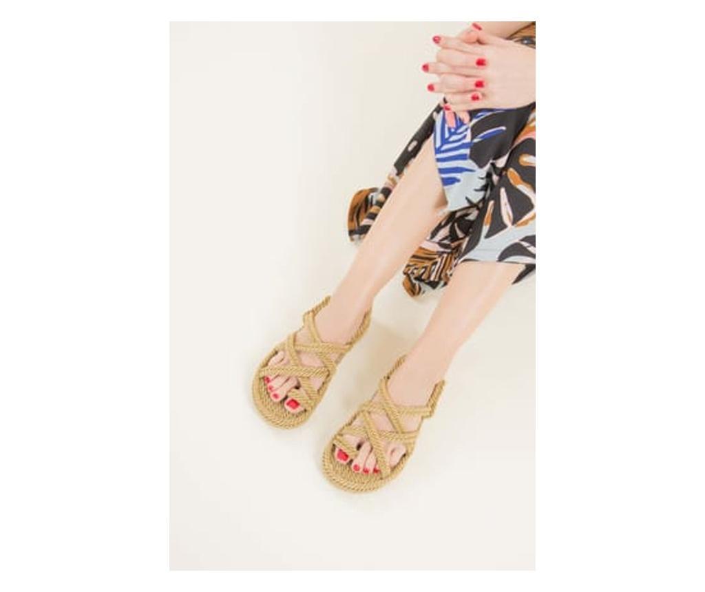 Sandale dama Fox Shoes Mink 35