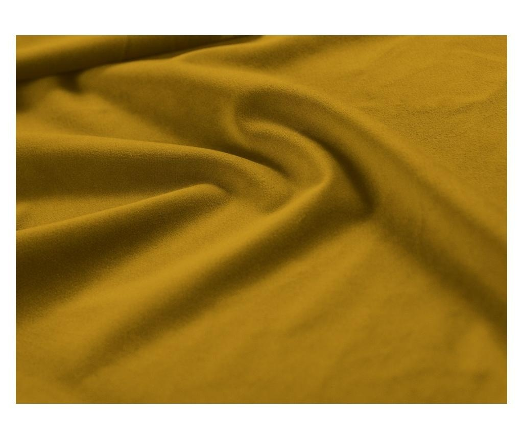 Разтегателно  триместно канапе Madras Mustard