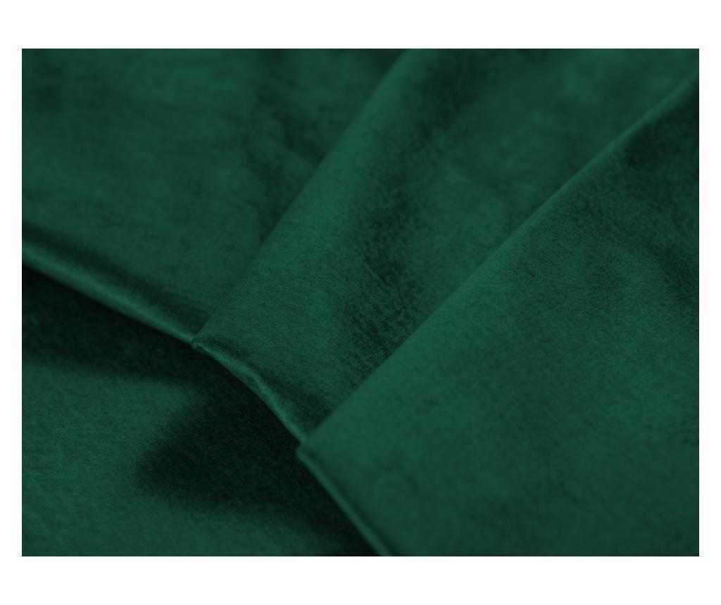Разтегателен ляв ъглов диван Deneb Bottle Green